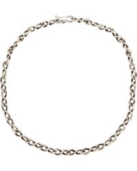 Dean Harris | Metallic Sterling Silver Chain for Men | Lyst
