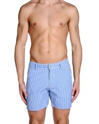Roy Rogers - Blue Swimming Trunk for Men - Lyst