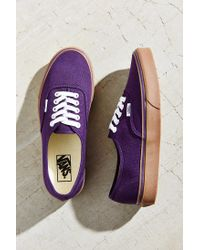 Vans - Purple Authentic Gumsole Sneaker - Lyst