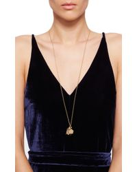 Monica Rich Kosann | Metallic 18k Yellow Gold High-polish Secret Message Box Charm Necklace | Lyst