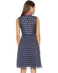 Diane von Furstenberg - Blue Nieves Dress - Lyst