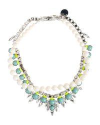 Ellen Conde - White Necklace - Lyst