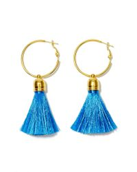 Nasty Gal | Blue Suzywan Deluxe Tanya Tassel Earrings | Lyst