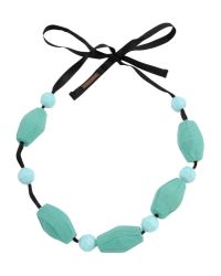 Marni | Blue Necklace | Lyst