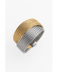 Alor | Gray Cable Wrap Ring | Lyst