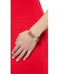 Miansai Pink Hudson Cuff - Rose Gold
