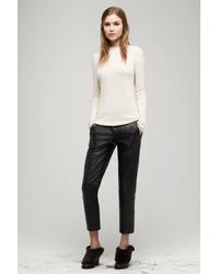 Rag & Bone - Black Em Pant Leather - Lyst