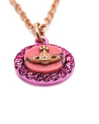 Vivienne Westwood | Pink 'giselle' Pendant Necklace | Lyst