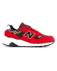 New Balance - Red '580 Elite Edition' Sneakers - Lyst
