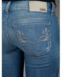 DIESEL - Blue Skinzee 0848l Skinny Jeans - Lyst