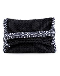 Wool And The Gang | Black Bag It Up Clutch | Lyst
