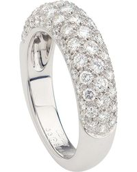 Cartier | Metallic Mimi Star 18ct White-gold And Diamond Ring | Lyst