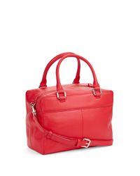 kate spade new york | Red Ashton Leather Satchel Bag | Lyst