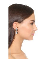 DANNIJO Metallic Alix Earrings