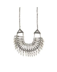 Rebecca Minkoff | Metallic Women's Bib Necklace | Lyst