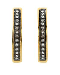 Annoushka | Metallic Eclipse Porcupine Hoop Earrings | Lyst