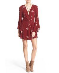 Free People - Jasmine Embroidered Dress - Lyst