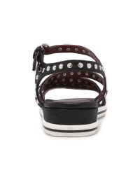 Marc By Marc Jacobs | Black Gena Studded Sandals | Lyst