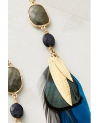 Gas Bijoux | Blue Feathered Sunstone Drops | Lyst