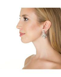 Deepa Gurnani | Metallic Celestial Bird Earrings | Lyst