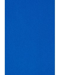 3.1 Phillip Lim - Blue Cutout Back And Beaded Neck Dress - Lyst