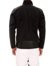 Lacroix Black Evolution Technical Ski Jacket for men