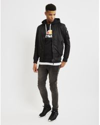 Ellesse | Hoodie With Classic Logo Black for Men | Lyst