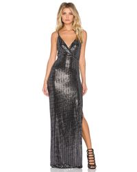 Oh My Love - Metallic All Shook Up Maxi Dress - Lyst
