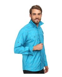 Under Armour | Blue Ua Chesapeake L/s Plaid Shirt for Men | Lyst