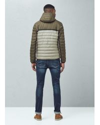 Mango - Natural Ultra-light Quilted Coat for Men - Lyst