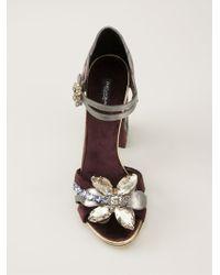 Dolce & Gabbana Pink 'biance' Sandals