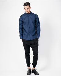 Assembly - Standard Shirt / Blue for Men - Lyst