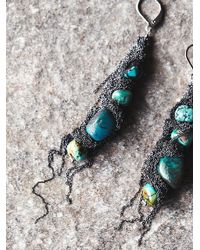 Free People | Blue La Vie Boheme Jewelry Womens Roots Earth Earring | Lyst
