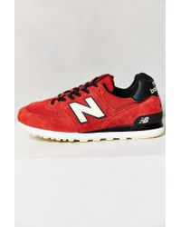 promo code c2112 0861b New Balance. Men s Red Made In Usa 574 Connoisseur Authors Sneaker