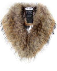 Yves Salomon | Natural Fur Collar | Lyst