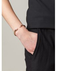 Vita Fede | Metallic Conical Tip Bangle | Lyst