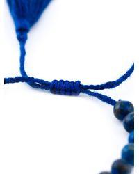 Ileana Makri | Blue 'komploi' Lapis Jade Bracelet | Lyst