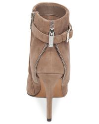 Jessica Simpson | Brown Dyers Cuffed Dress Booties | Lyst