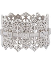 Grace Lee | Metallic Lace Crown Ring Size 6 | Lyst