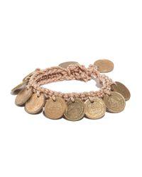 Madewell - Metallic Daniela Bustos Maya&Trade; Coin Bracelet - Lyst