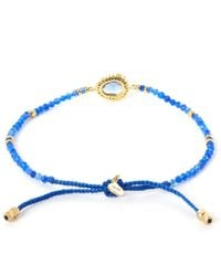 Tai - Blue Starburst Beaded Bracelet - Lyst