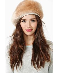Nasty Gal | Natural Eugenia Kim Marion Hat | Lyst