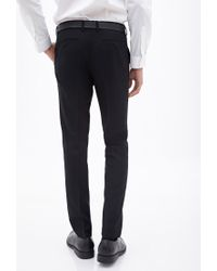 Forever 21 | Black Classic Woven Dress Pants for Men | Lyst