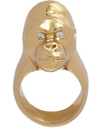 Jennifer Fisher - Metallic Brass Small Gorilla Ring - Lyst