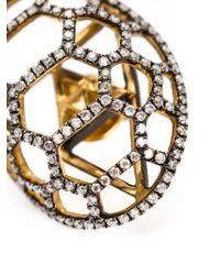 Venyx - Metallic 'tortuga' Earrings - Lyst