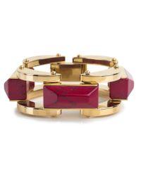 Lele Sadoughi | Purple Milky Way Bracelet, Burgundy | Lyst