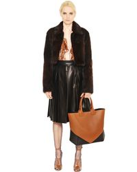 Givenchy Brown Easy Two Tone Nappa Leather Tote Bag
