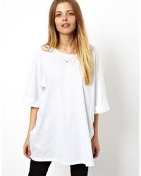 ASOS White Oversized T-Shirt