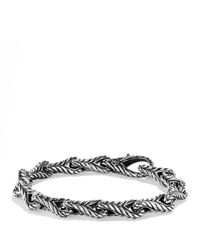 David Yurman Metallic Chevron Figureeight Large Link Bracelet for men