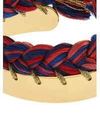 Aurelie Bidermann - Red Copacabana Gold-Plated Bracelet - Lyst